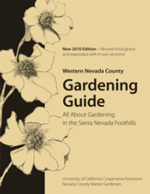 Western Nevada County Gardening Guide